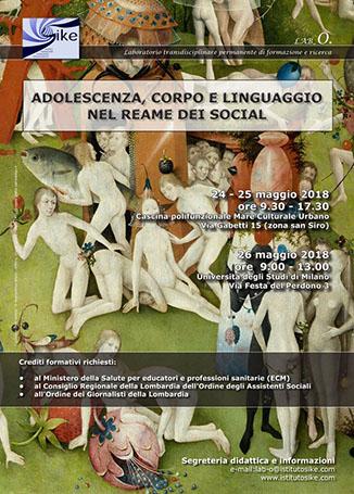 Adolescenza, corpo e linguaggio nel reame dei social