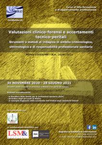 Corso Valutazioni clinico forensi 2020